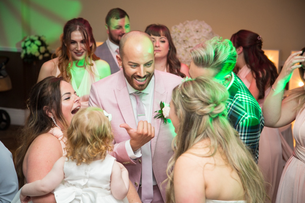 Guests dancing at Holiday Inn Barnsley Wedding