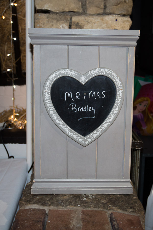 Mr & Mrs box at Rockingham Arms Wentworth