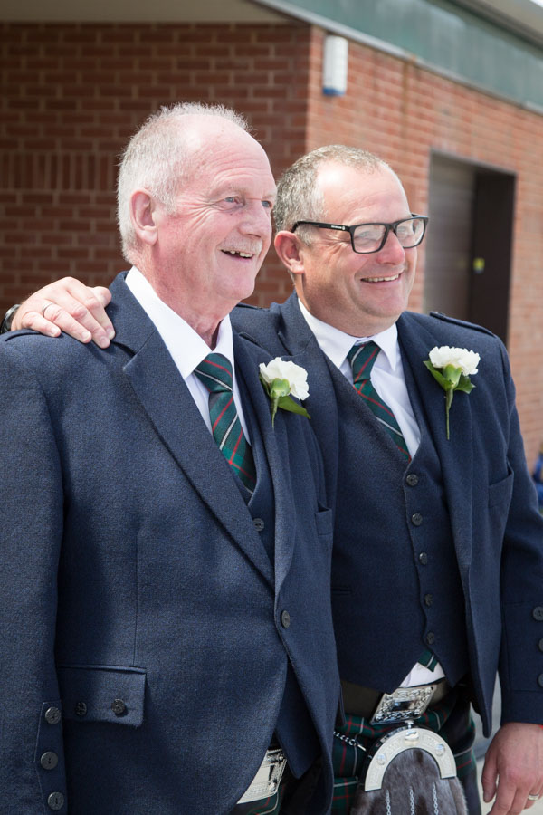 Groom and his Son at Bluebell Banqueting Suite Barnsley Wedding