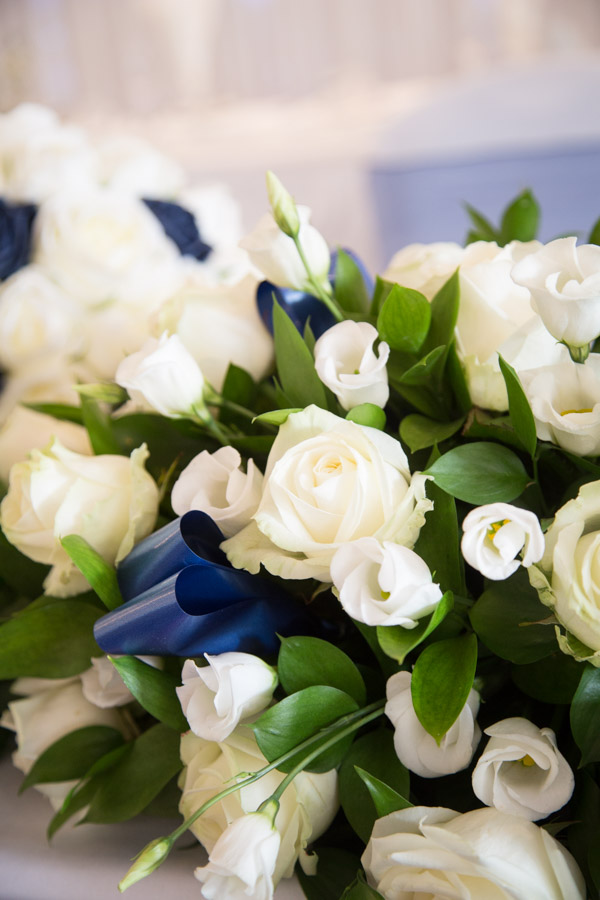 THe wedding bouquets at Bluebell Banqueting Suite Barnsley Wedding