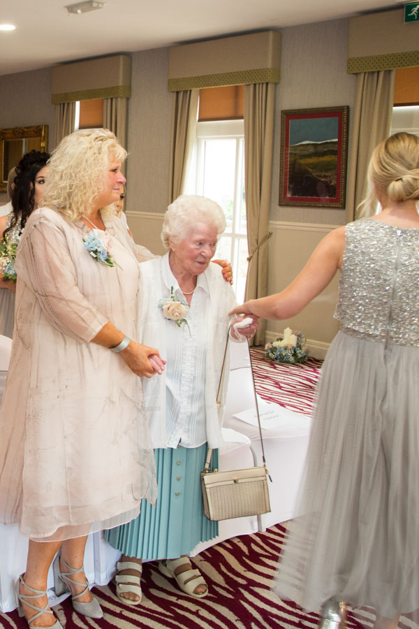 Mother and grandmother of the bride at Bagden Hall Hotel Wedding