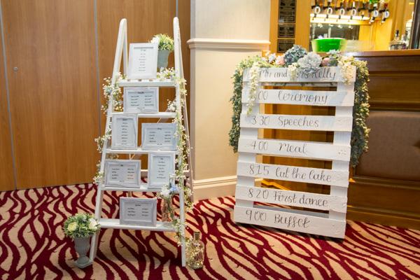 Wedding accessories at Bagden Hall Hotel Wedding