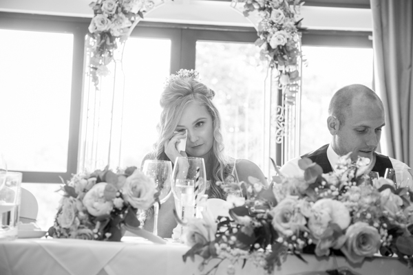 Speeches at Bagden Hall Hotel Wedding