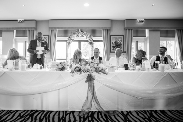 Speeches at Bagden Hall Hotel Wedding Who To Thank At Weddings