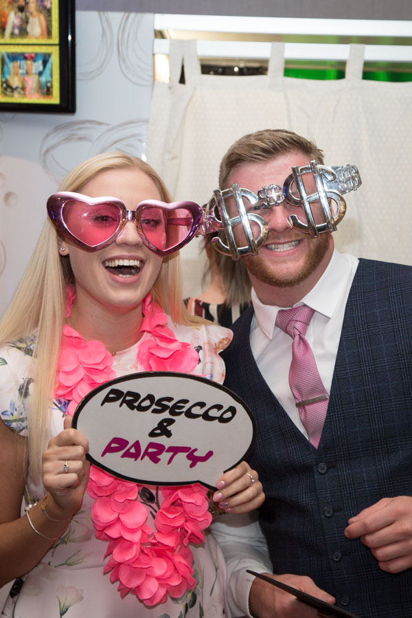 Photobooth props at Bagden Hall Hotel Wedding