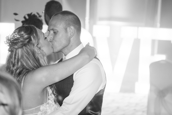 The first Dance at Bagden Hall Hotel Wedding