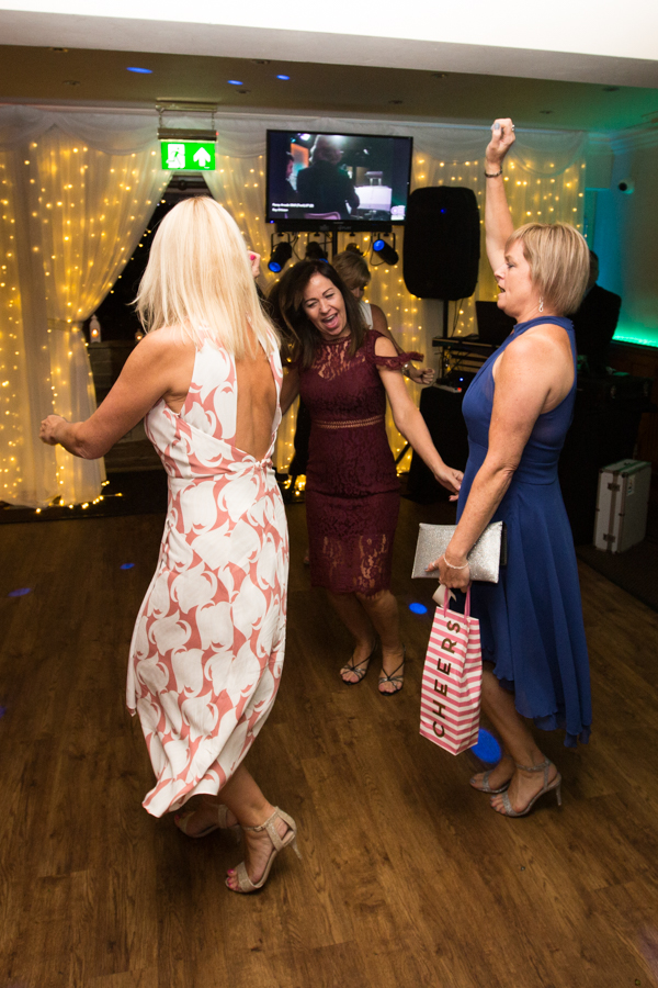 Guests on the Dancefloor at Whitley Hall Wedding