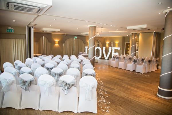 The ceremony room at 315 Wedding Huddersfield