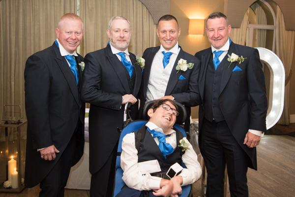 The groomsmen at 315 Wedding Huddersfield