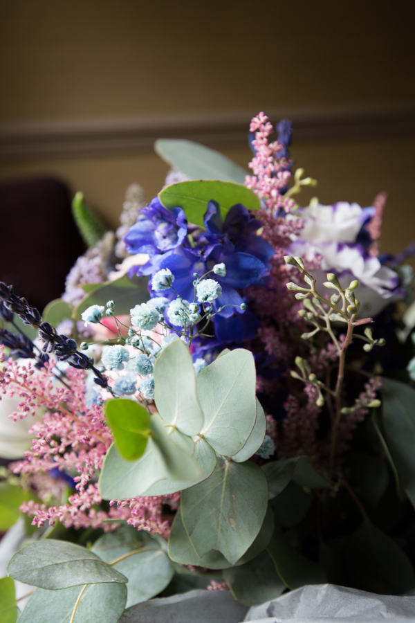 Bridal bouquet at Whitley Hall Hotel Wedding