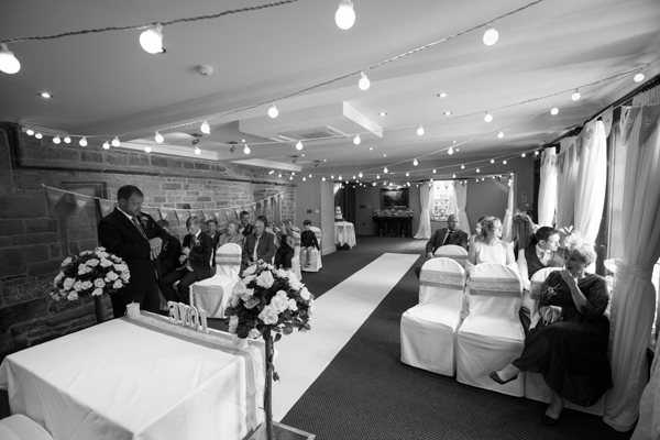 The Parker Suite wedding ceremony room at Whitley Hall Wedding