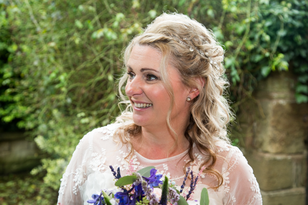 Bridal Portrait at Whitley Hall Hotel Wedding