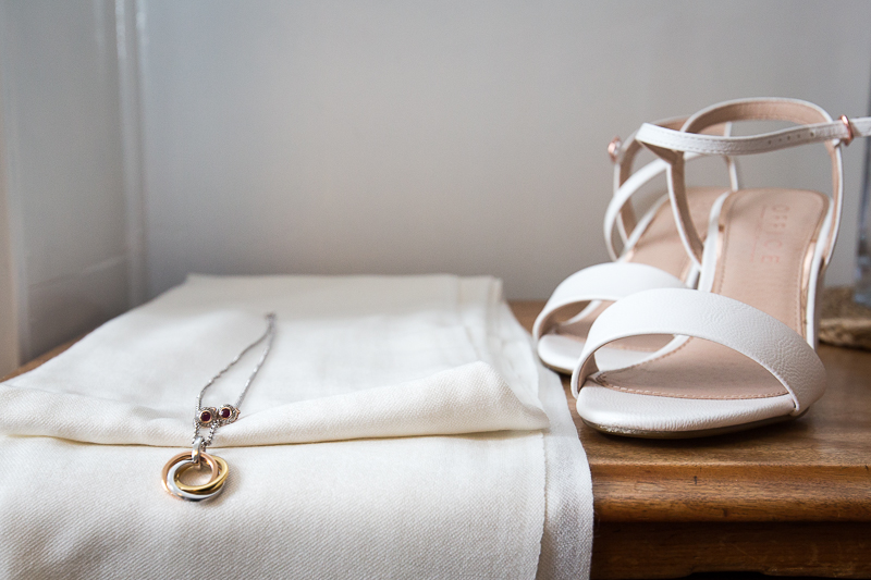 Shoes and accessories for the wedding day
