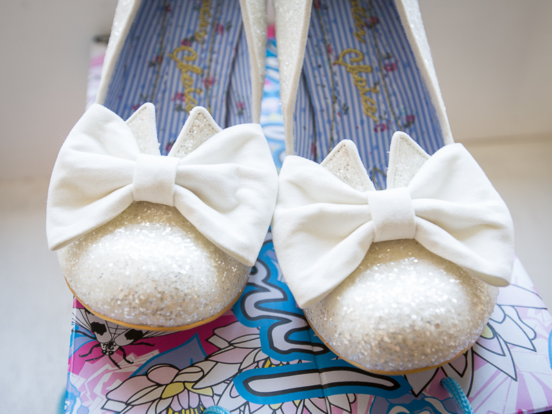 THe Nick of time Irregular choice bridal shoes