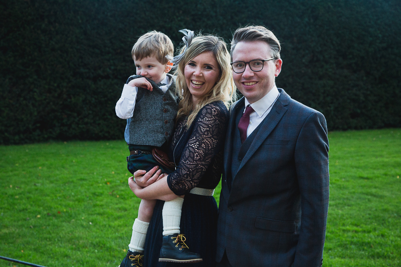 Guest Portraits at Yorkshire Sculpture Park Wedding West Yorkshire