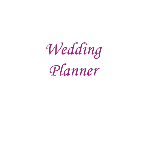 Wedding Planner front cover