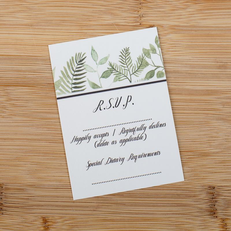 Giftast Wedding Stationary RSVP