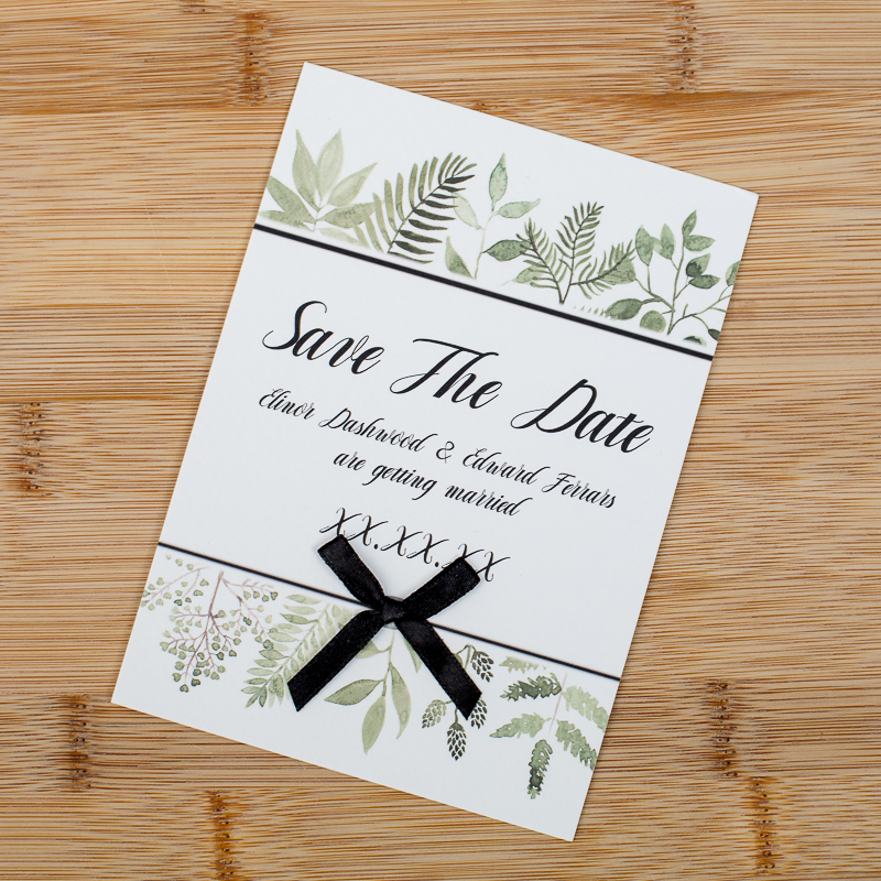 Giftast Wedding Stationary Save the date