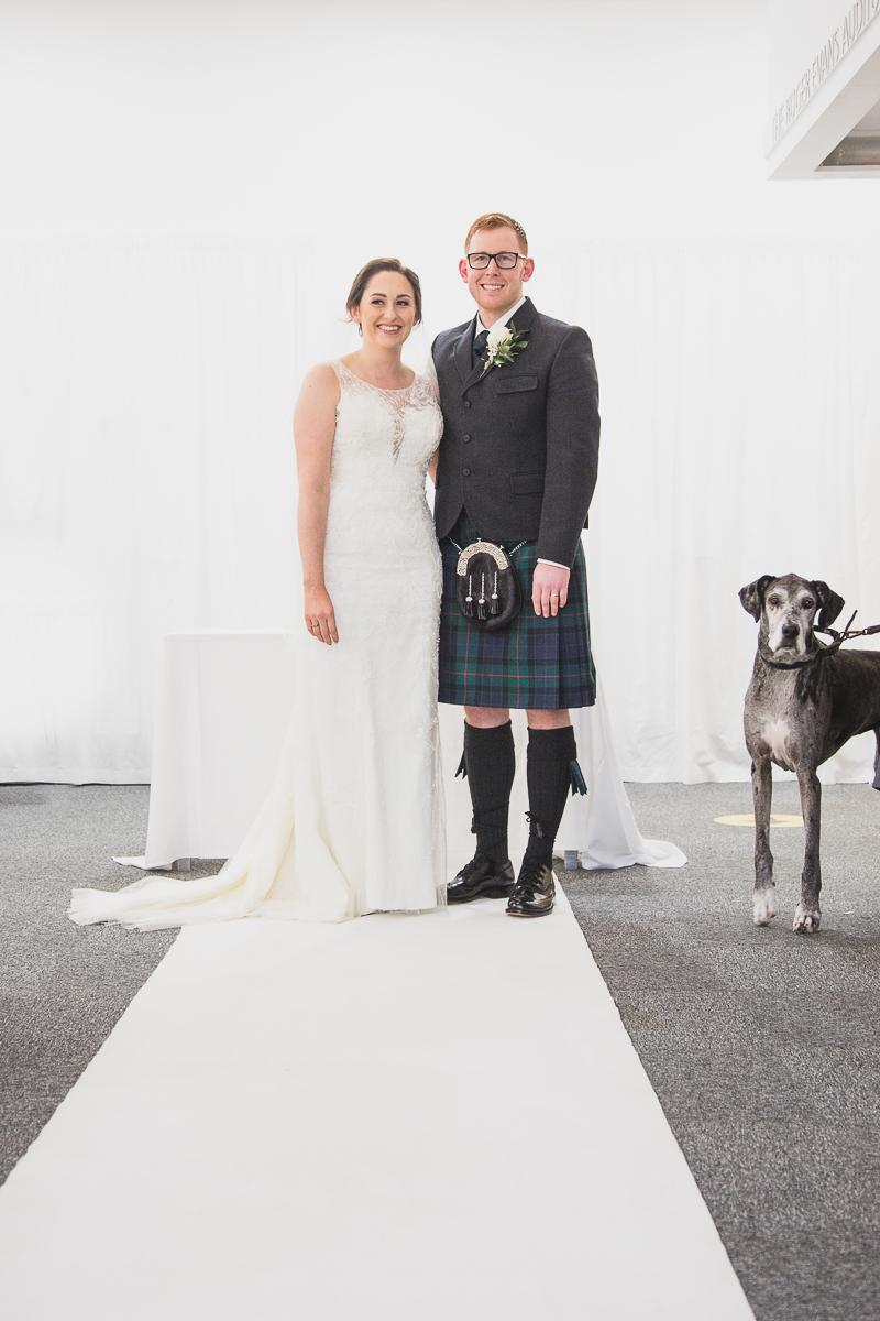 Wedding Photographer Yorkshire Sculpture Park West Yorkshire