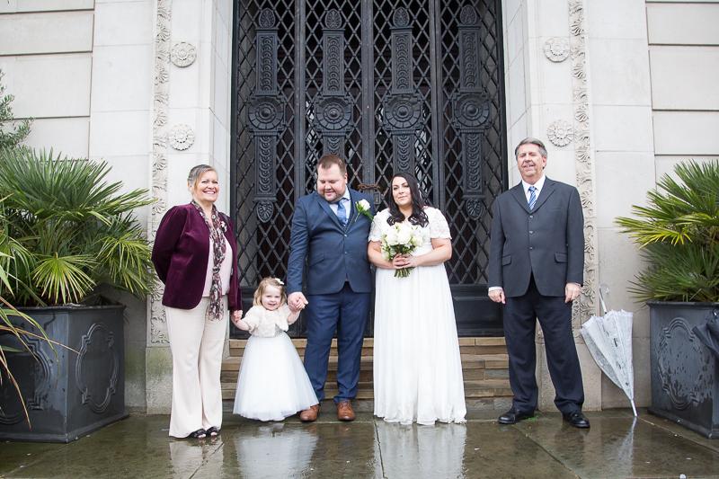 Group Photographs at Barnsley Town Hall Wedding