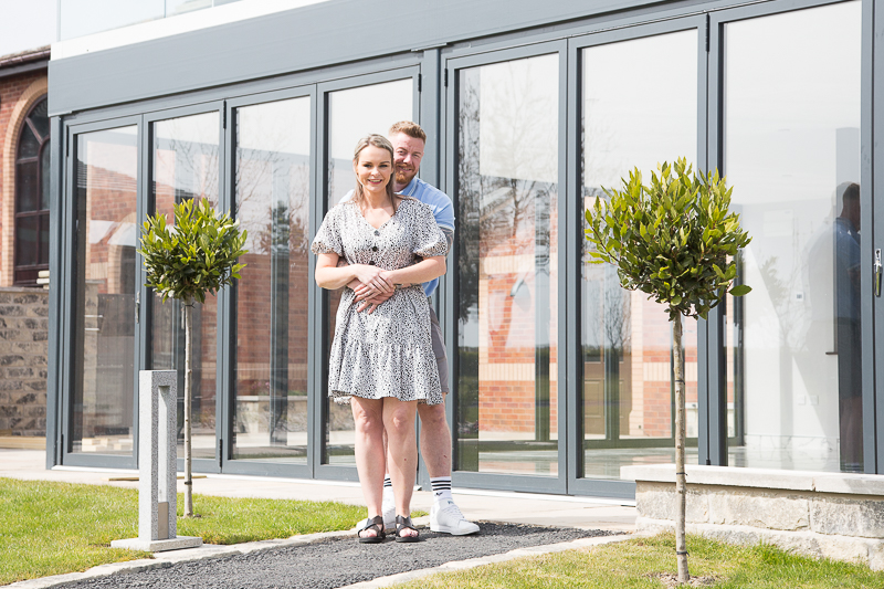 Couple at Burntwood court Hotel South Yorkshire
