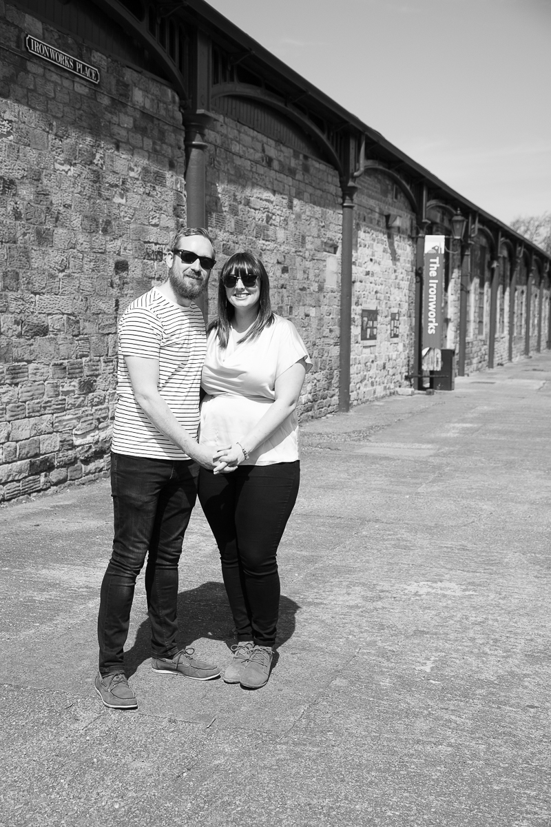 Couple at The Ironworks in Elsecar Heritage Centre