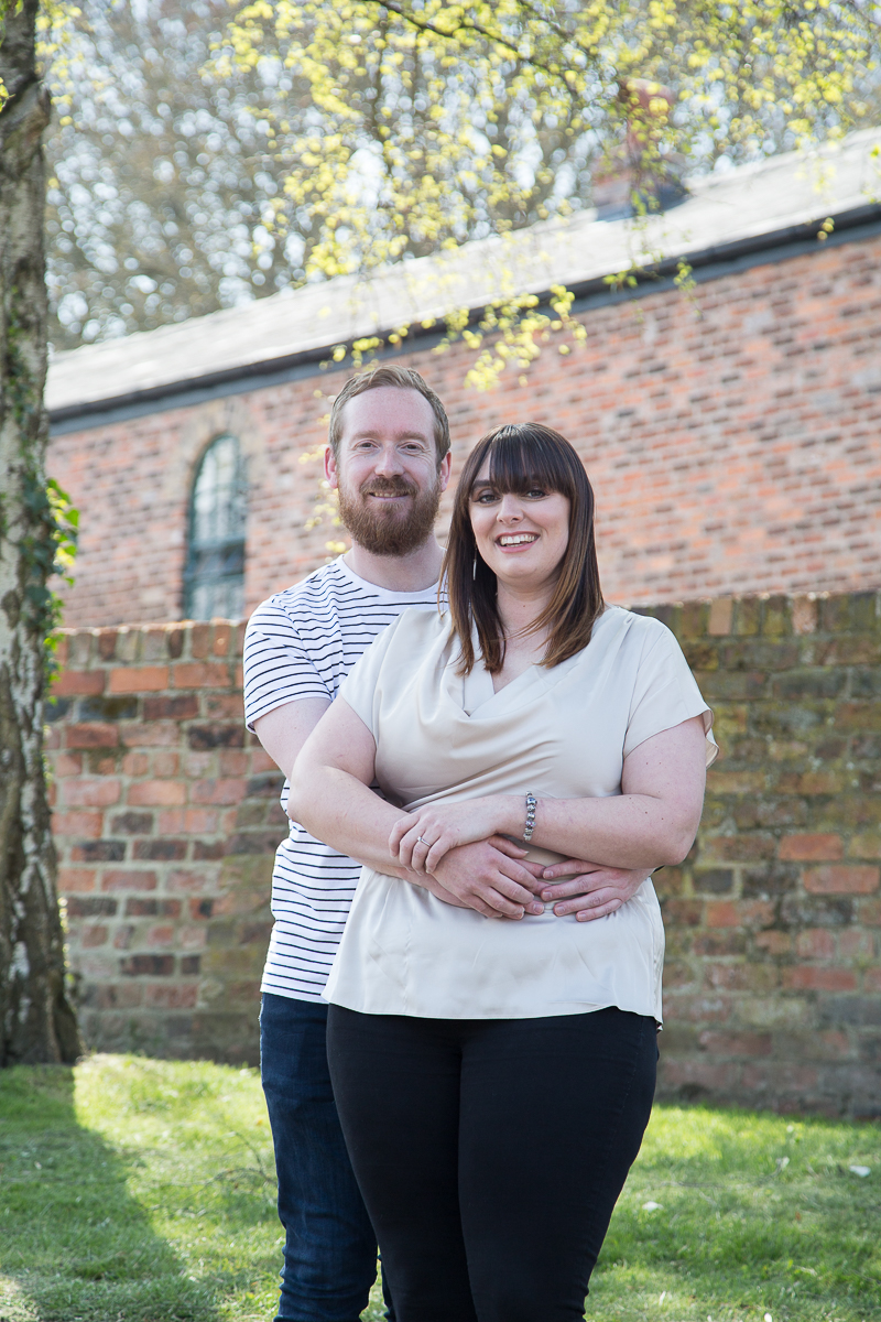 Engagement photography at Elsecar Heritage Centre