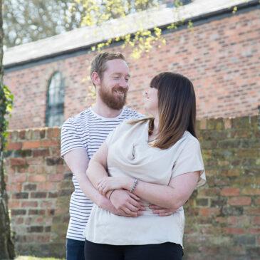 Kim & Andy's Pre-Wedding Session | Elsecar Heritage Centre