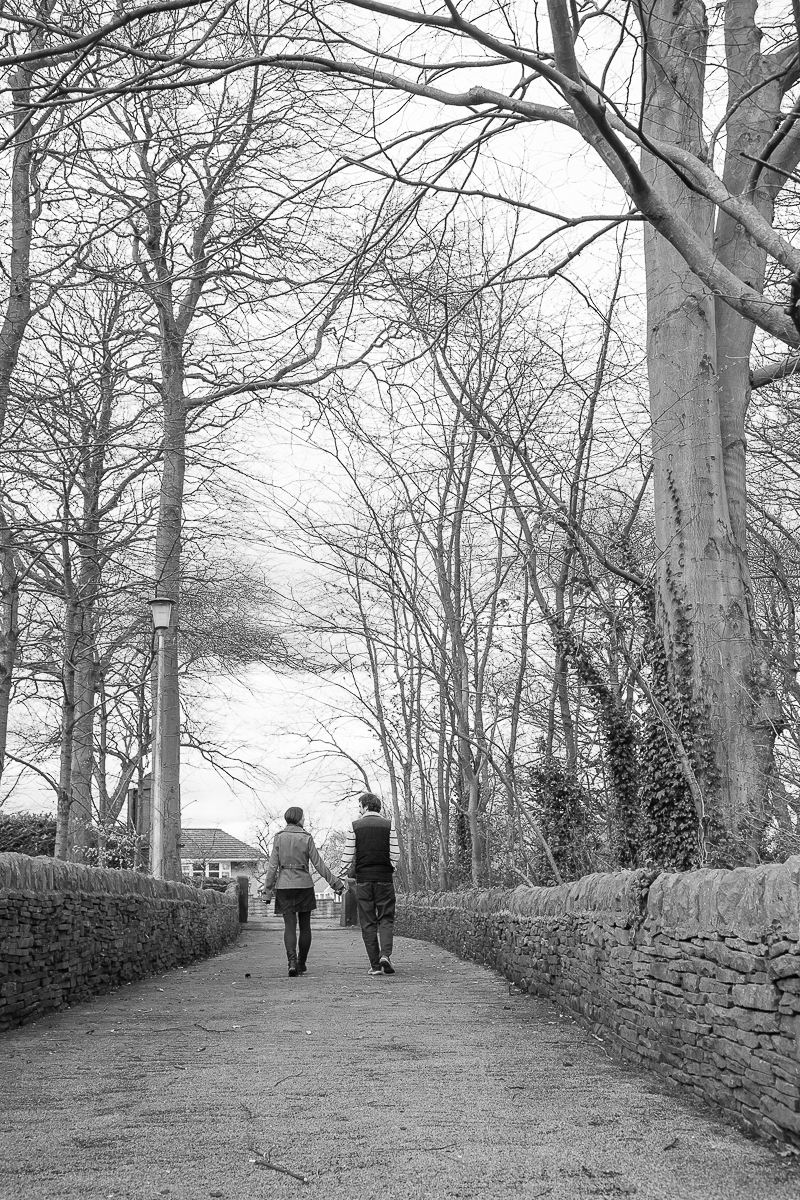 Engagement session at Cubley Hall Hotel South Yorkshire