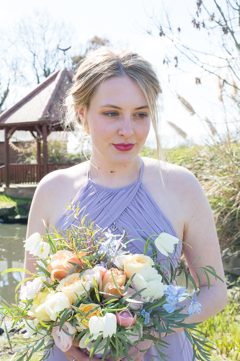 Olive May Floral Design bouquets at Fishlake Mill in Doncaster