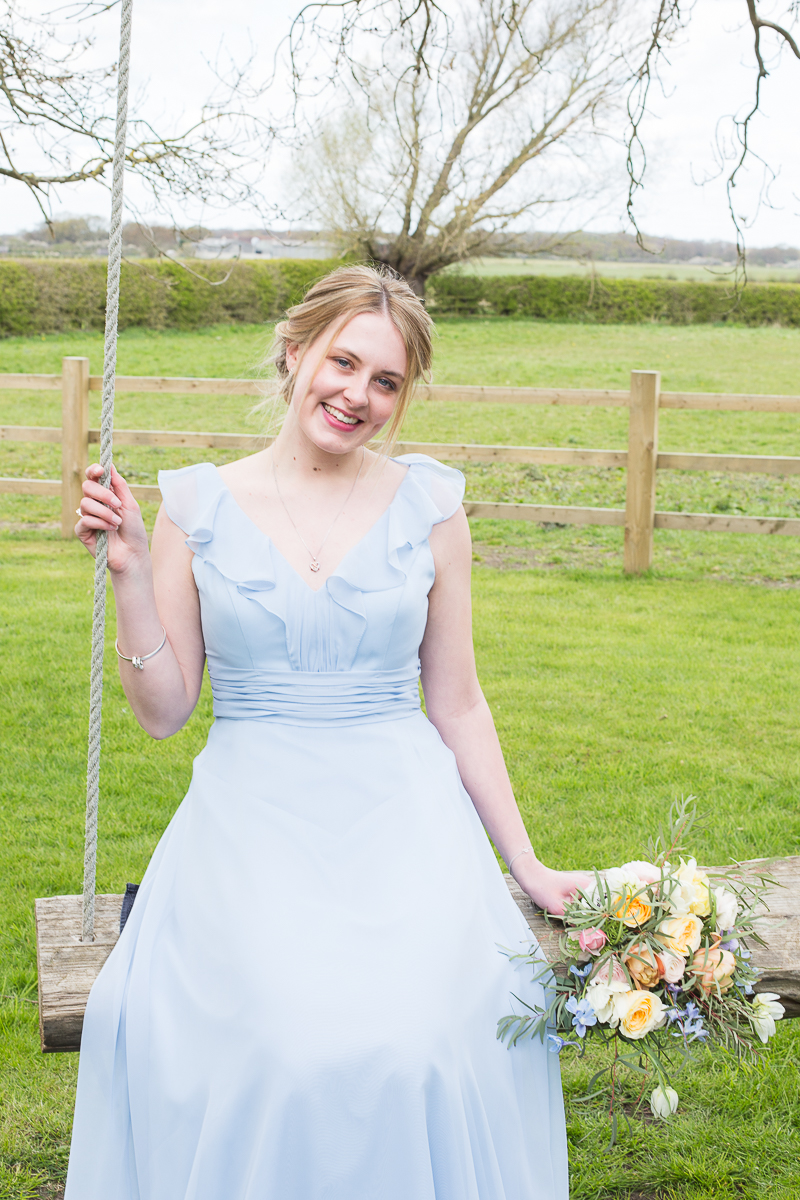 EVR Made Jewellery in a styled wedding photography shoot in South Yorkshire