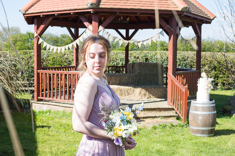 Bridesmaid theme shoot with Mon Amie Bridesmaid in South Yorkshire