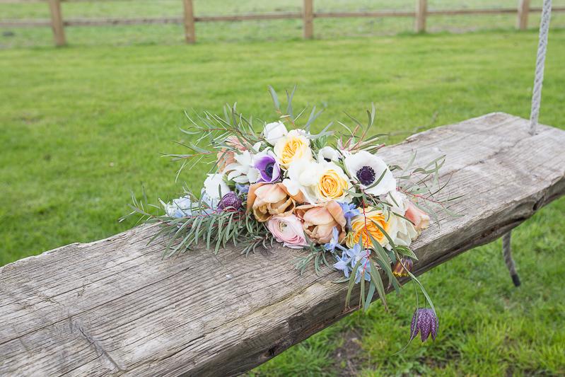 Olive May Floral Design wedding flower details