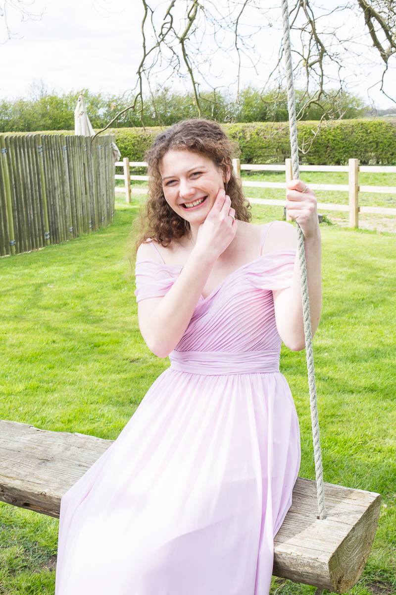 Pink Bridesmaid Dress by Mon Amie Bridemsaid in Yorkshire