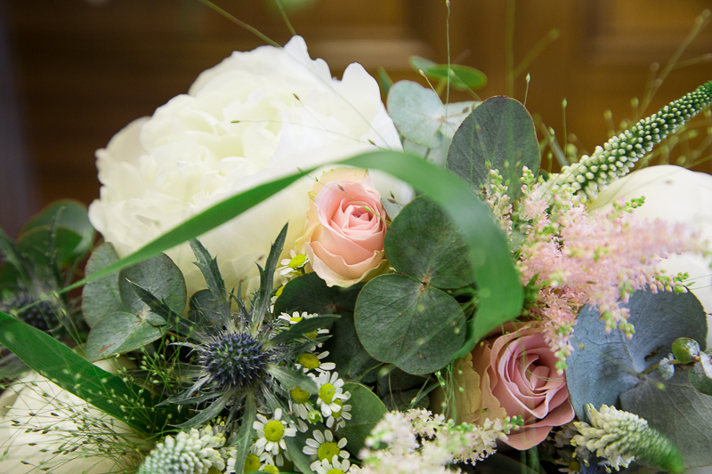 Bridal bouquet by Flourish Florist Sheffiled