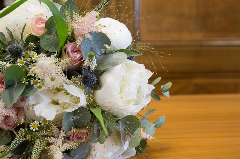 Bridal bouquet by Flourish Florist Sheffield
