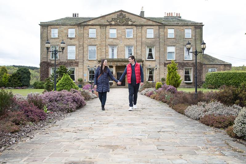 Waterton Park Hotel and Walton Hall engagement shoot