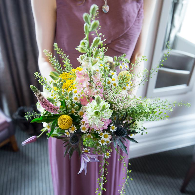 wedding flowers by Hacketts florist in Penistone