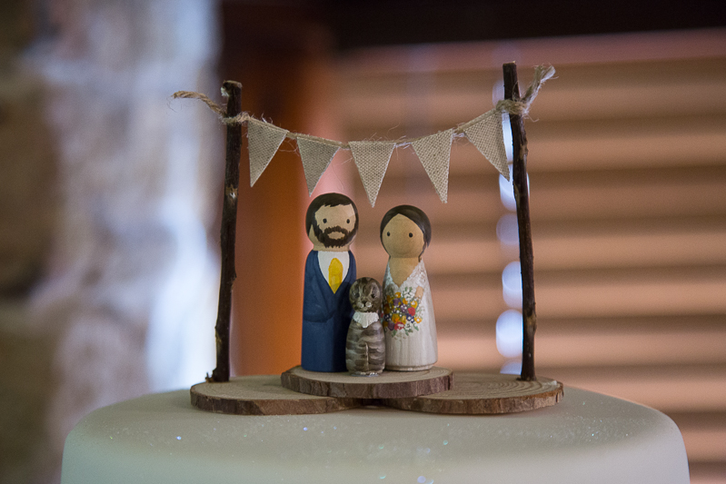 Cake topper by Crafting Bird UK