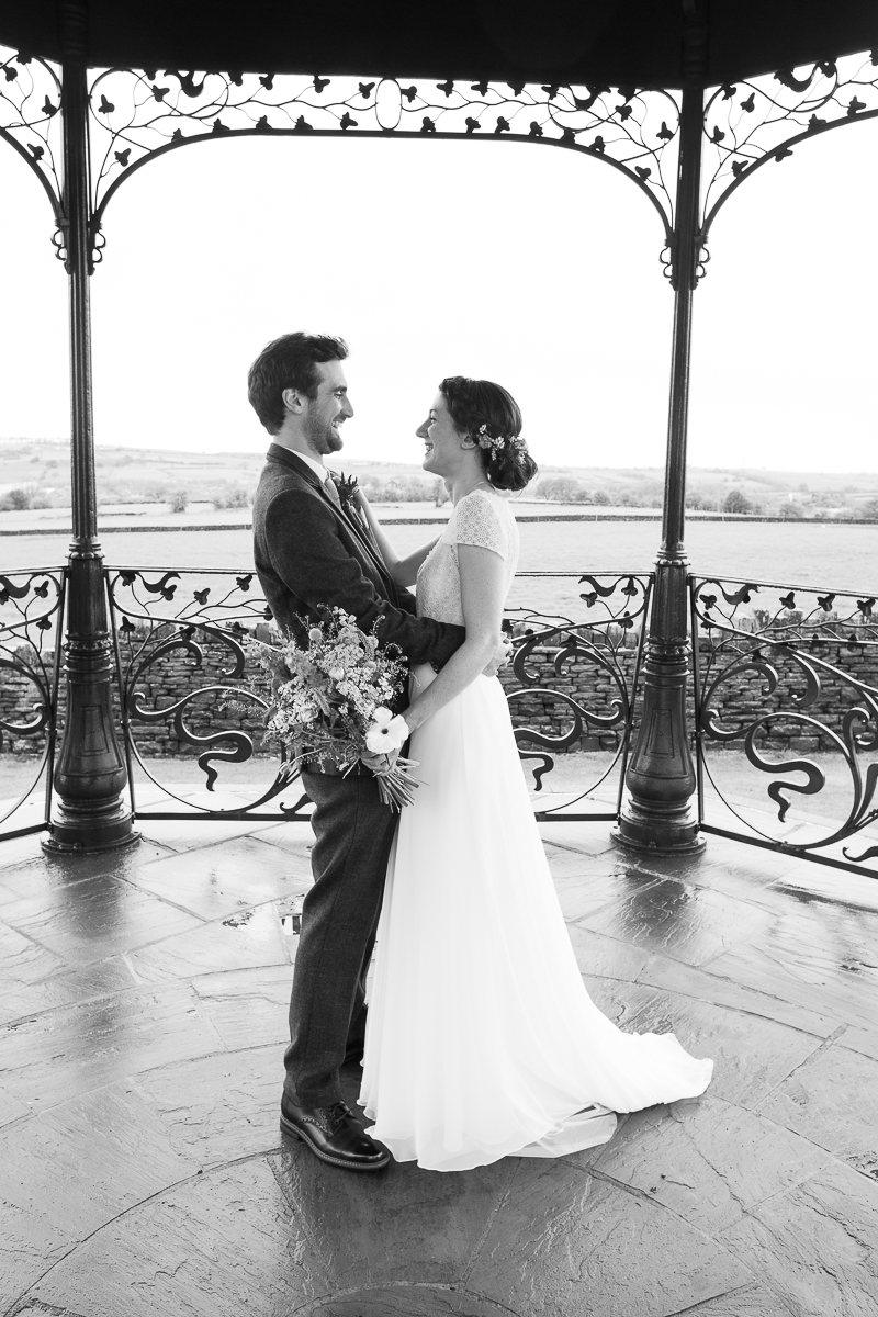 Bride and groom portraits by Charlotte Elizabeth Photography