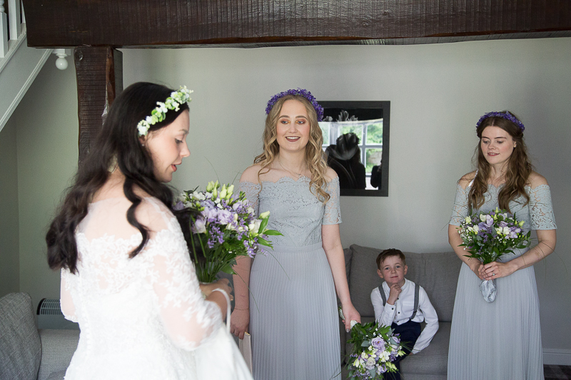 Wedding day at Waterton Park Hotel Yorkshire