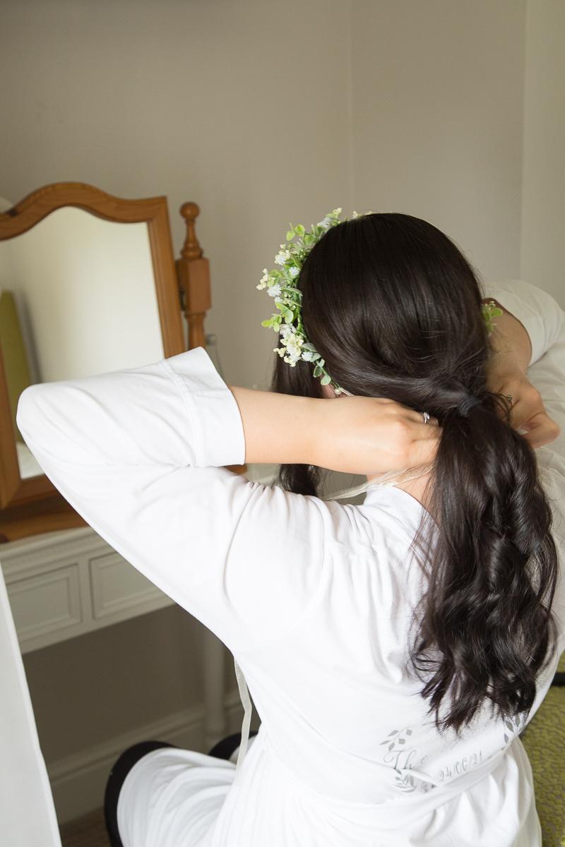 Bridal Preparation at Waterton Park Hotel