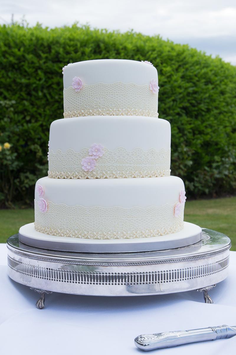 The wedding cake Waterton Park Hotel wedding