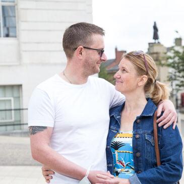 Vicky & John's Pre-Wedding Session | Barnsley Town Hall