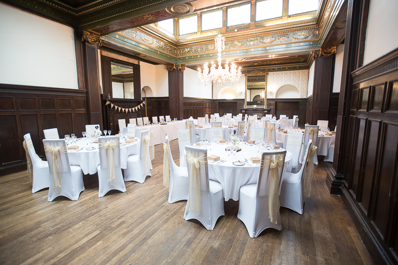 The dining room at Wortley Hall Hotel
