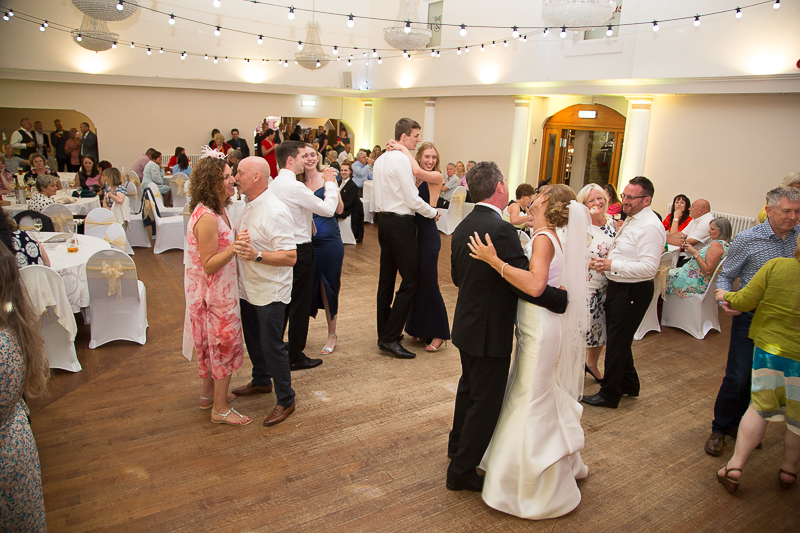 The first dance at Wortley Hall Hotel Wedding